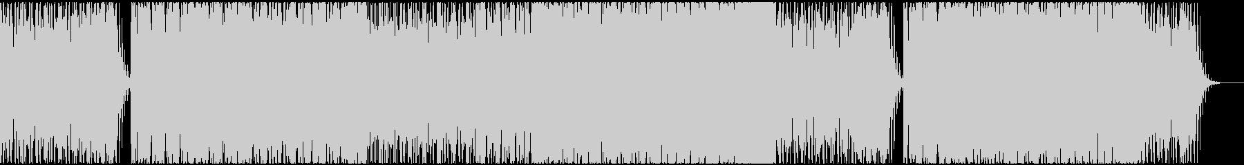神秘的かつ浮遊感のあるアンビエントの未再生の波形