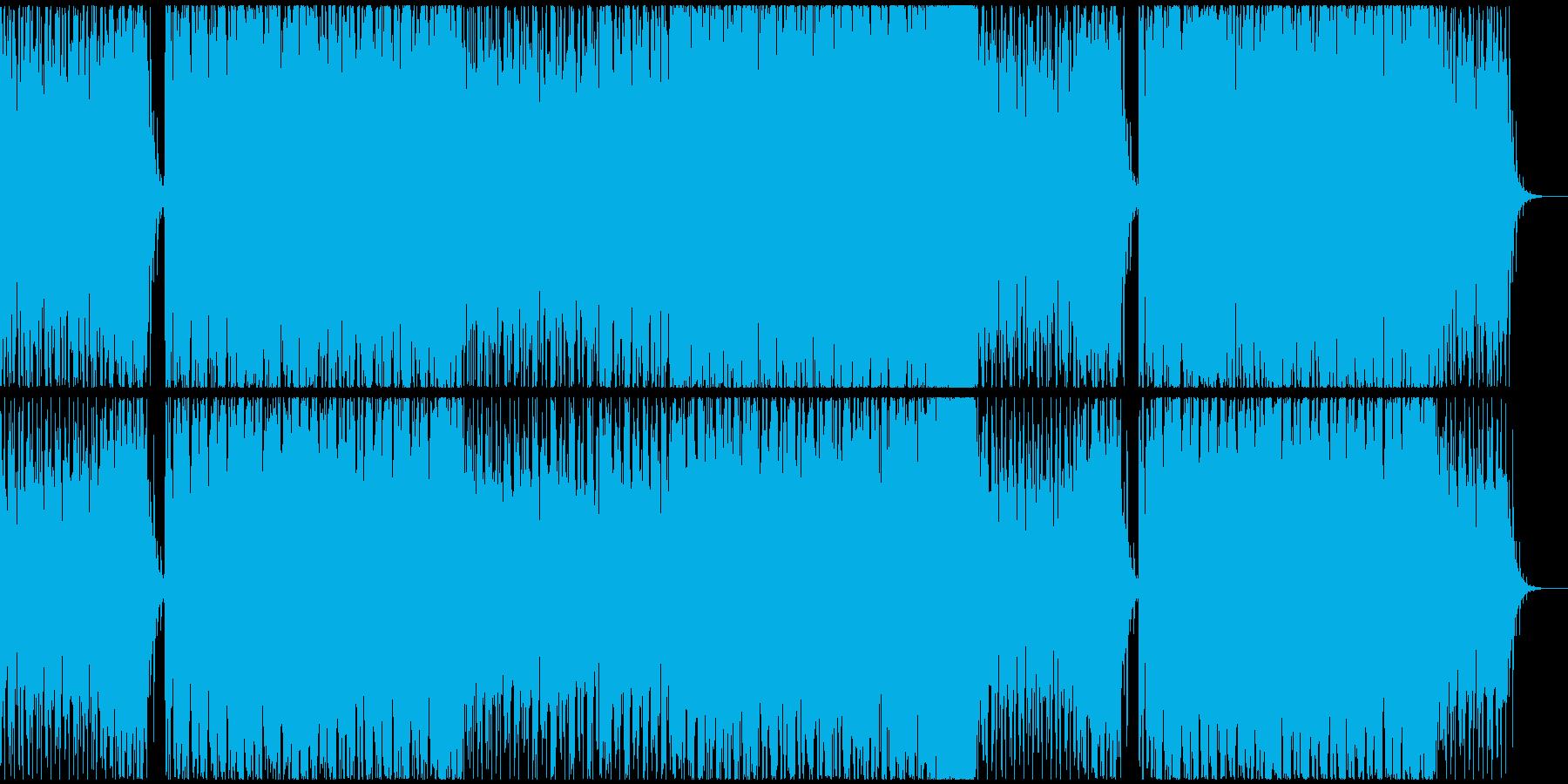 神秘的かつ浮遊感のあるアンビエントの再生済みの波形
