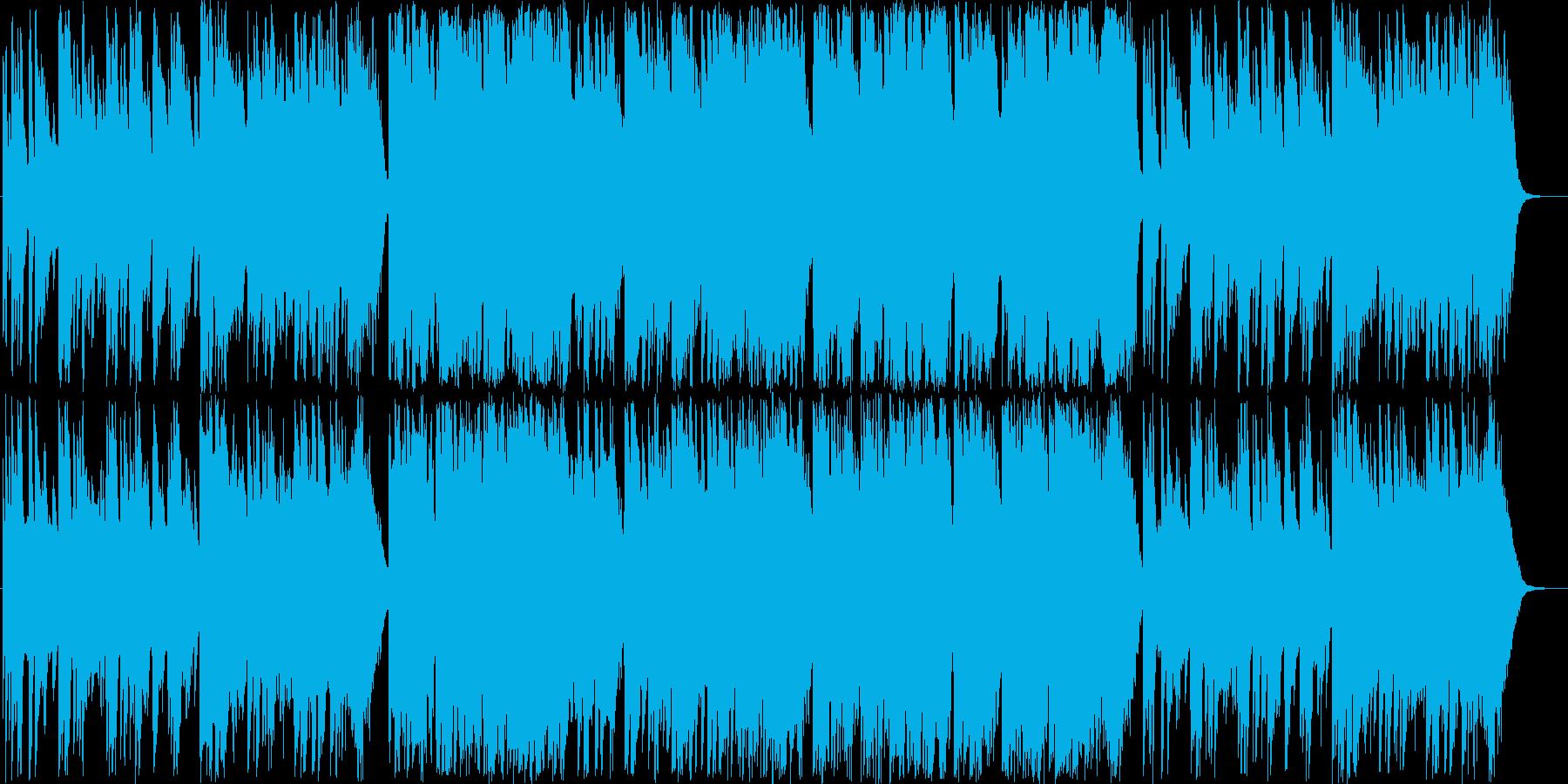 冬をイメージした曲ですの再生済みの波形
