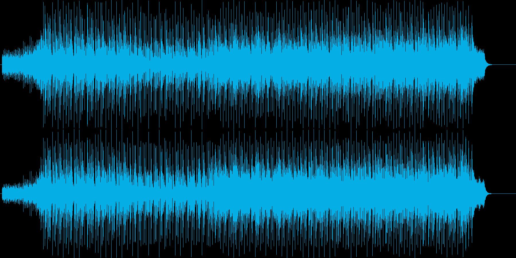 インターナショナル・ポップス漫遊記風の再生済みの波形