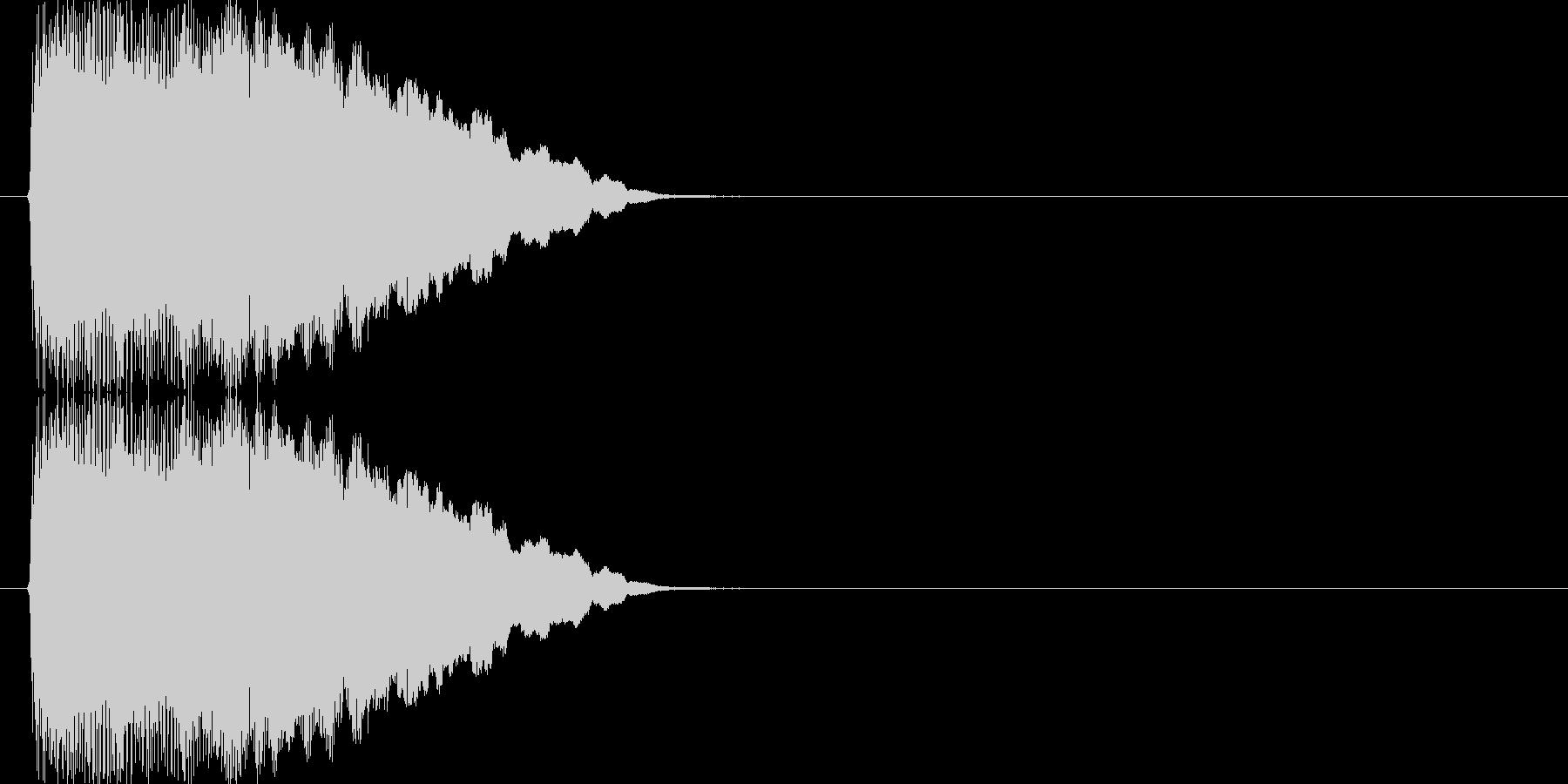 テュルリリリリ↑(場面転換)の未再生の波形