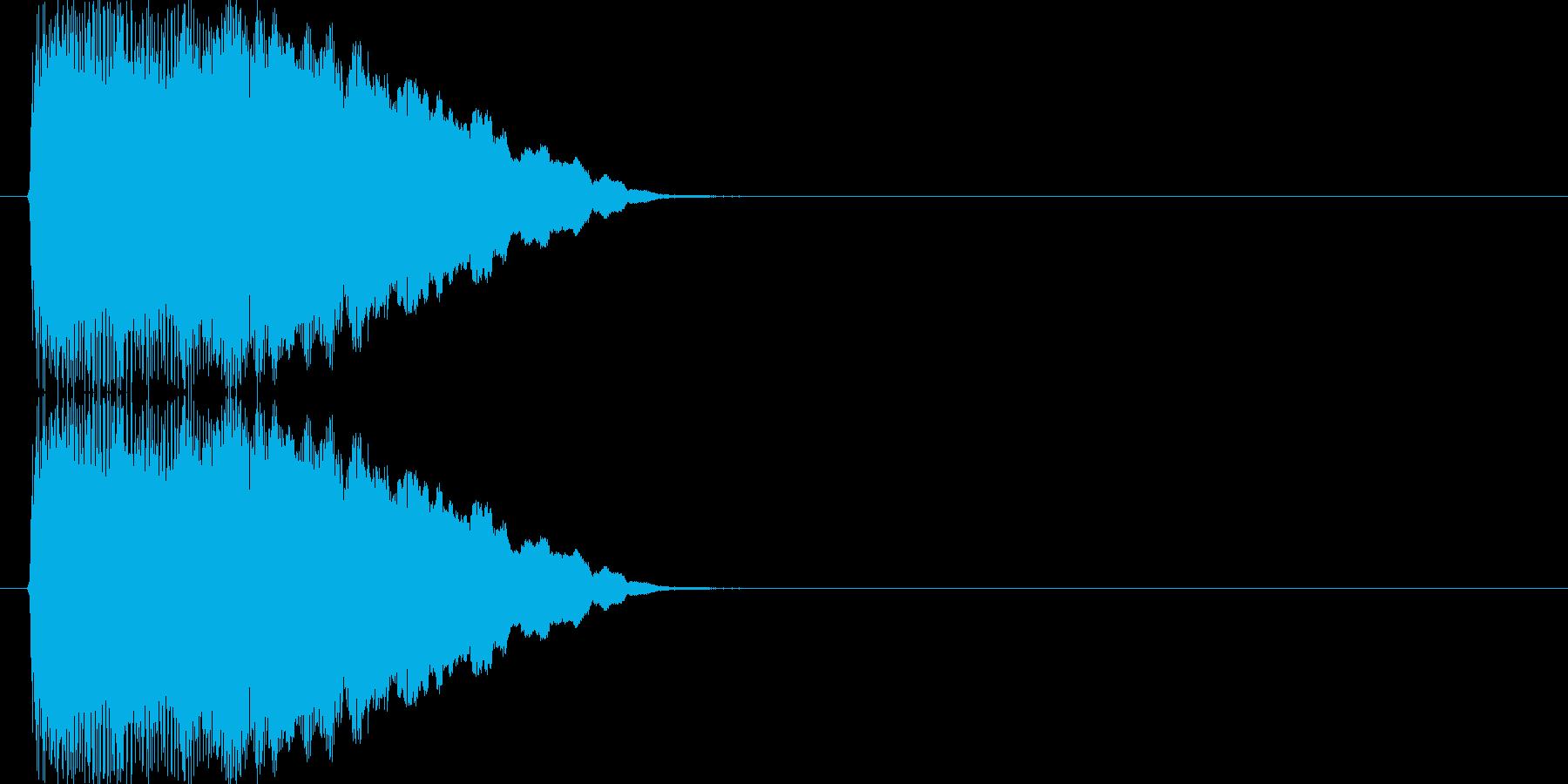 テュルリリリリ↑(場面転換)の再生済みの波形
