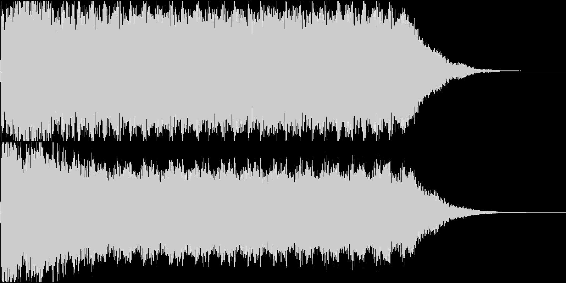 カジノスロットのカウントアップの未再生の波形