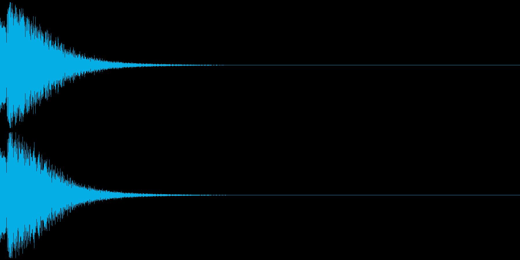 ピュルルルー ゲームオーバー 不正解の再生済みの波形