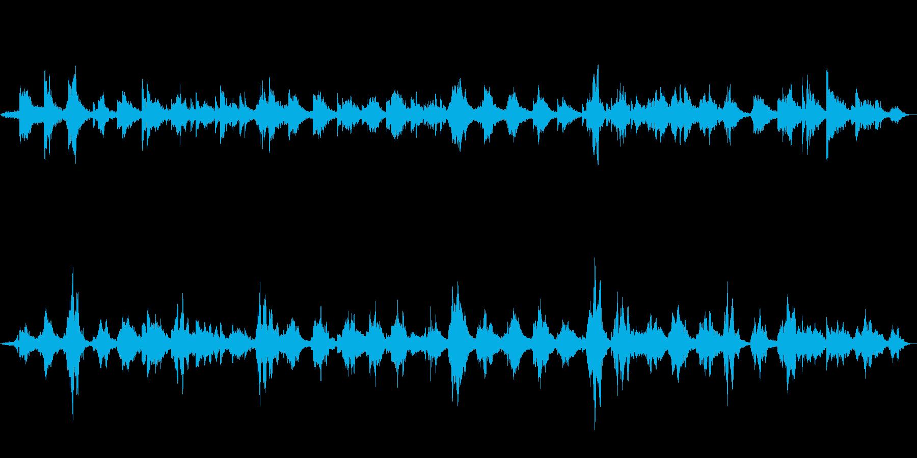 異世界にトリップ ピアノアンビエントの再生済みの波形