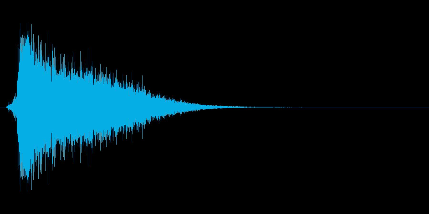 氷が砕ける音・氷系の魔法SE(中レベル)の再生済みの波形