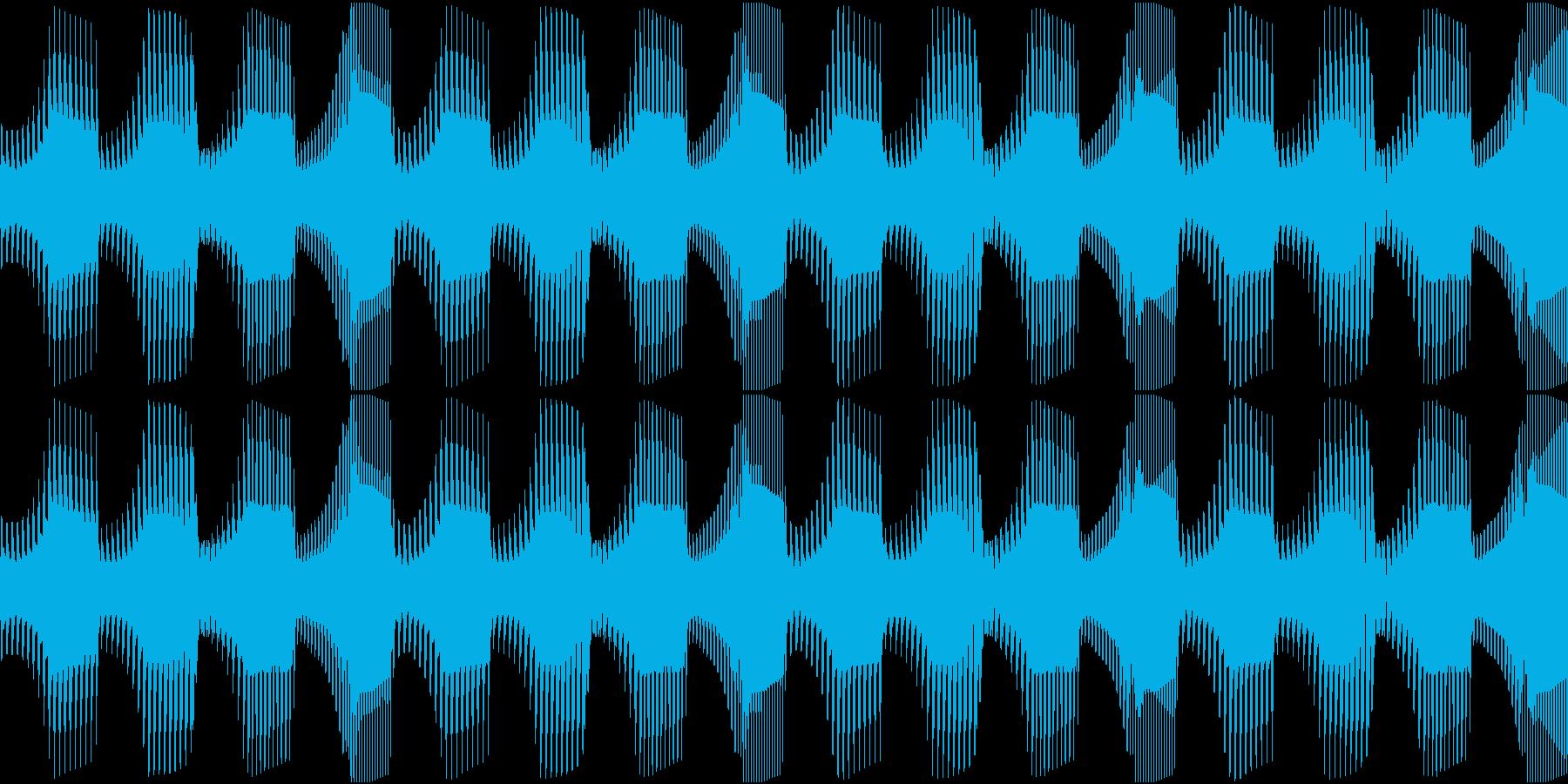 Techno ベース 8 音楽制作用の再生済みの波形