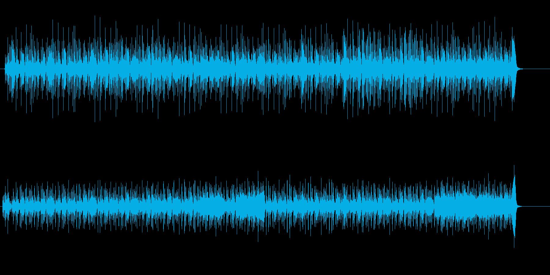 クールなエレクトロニカ・ポップの再生済みの波形