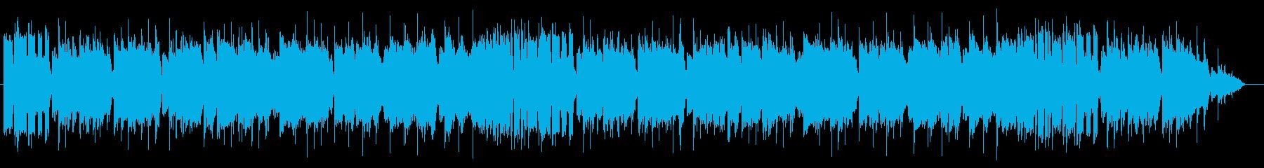 オープニング用のブラスファンファーレの再生済みの波形