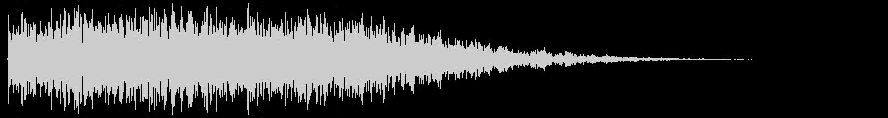 ロボが合体や変形する時の音 の未再生の波形