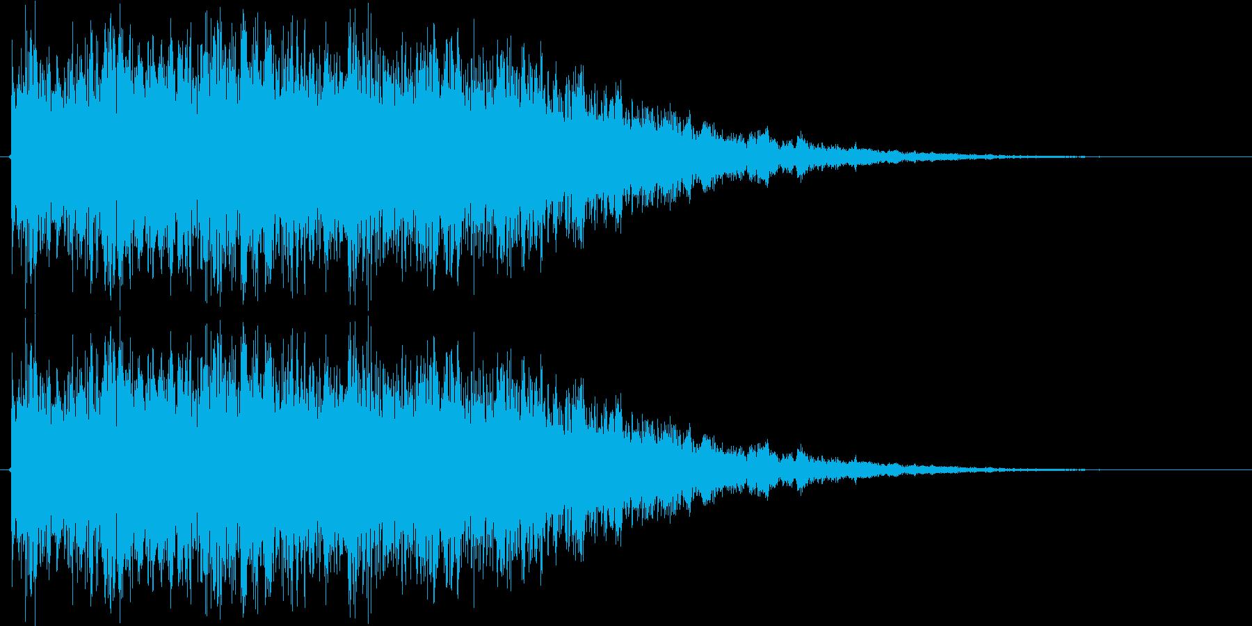 ロボが合体や変形する時の音 の再生済みの波形
