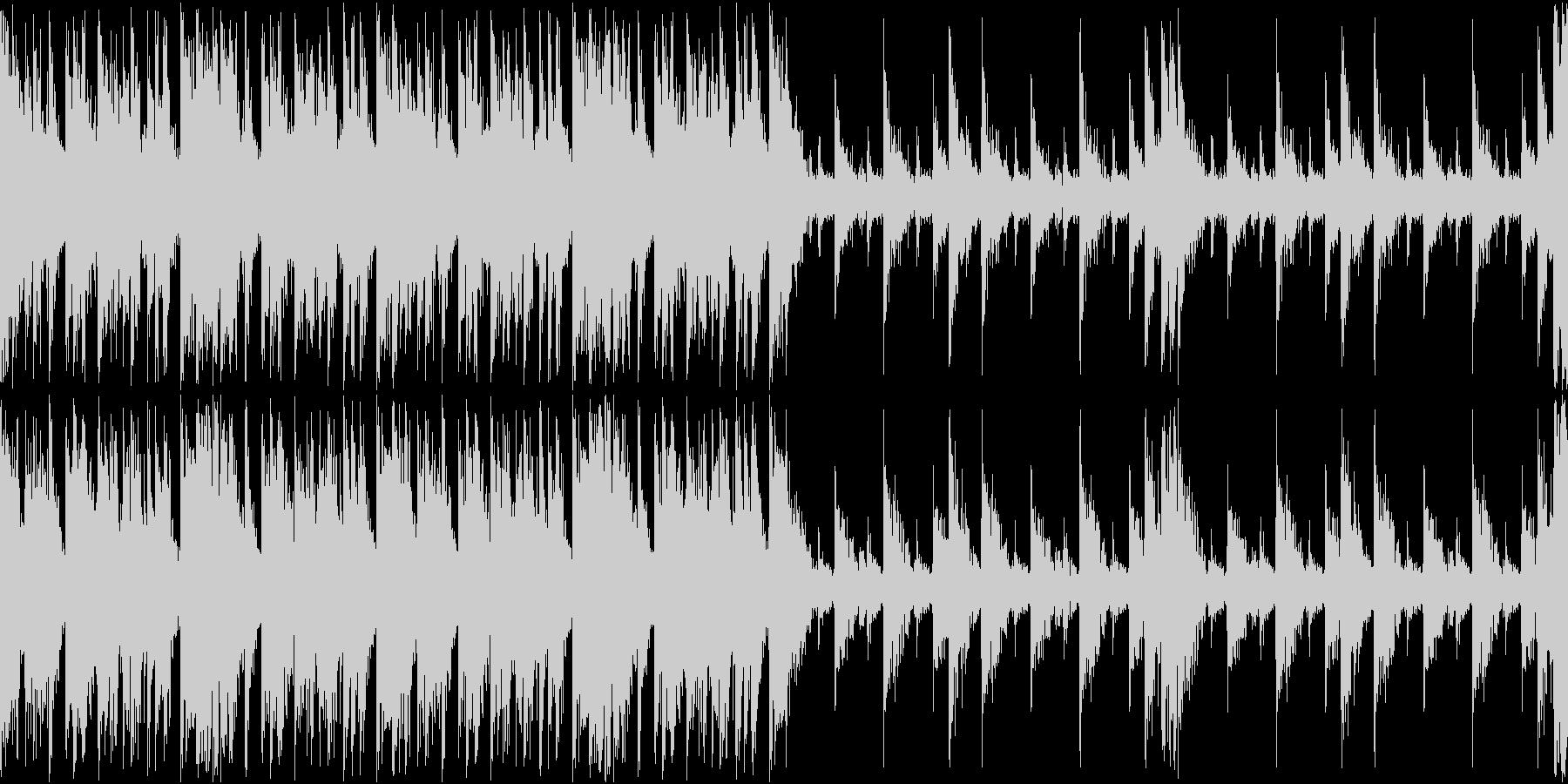 マップ画面・火山・単調ループ・太鼓の未再生の波形