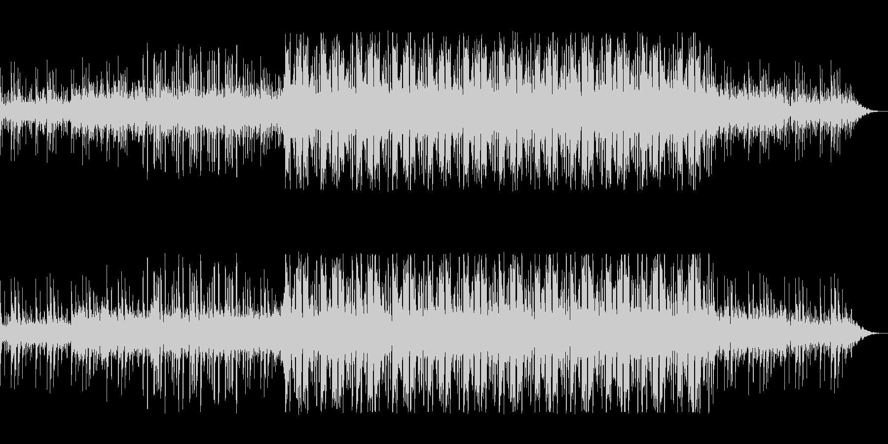 浮遊感のある、クールなエレクトロニカの未再生の波形