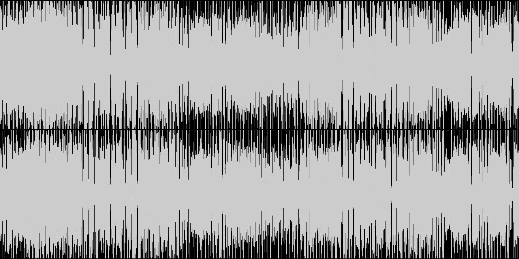 ポップで可愛いおしゃれな日常系BGMの未再生の波形
