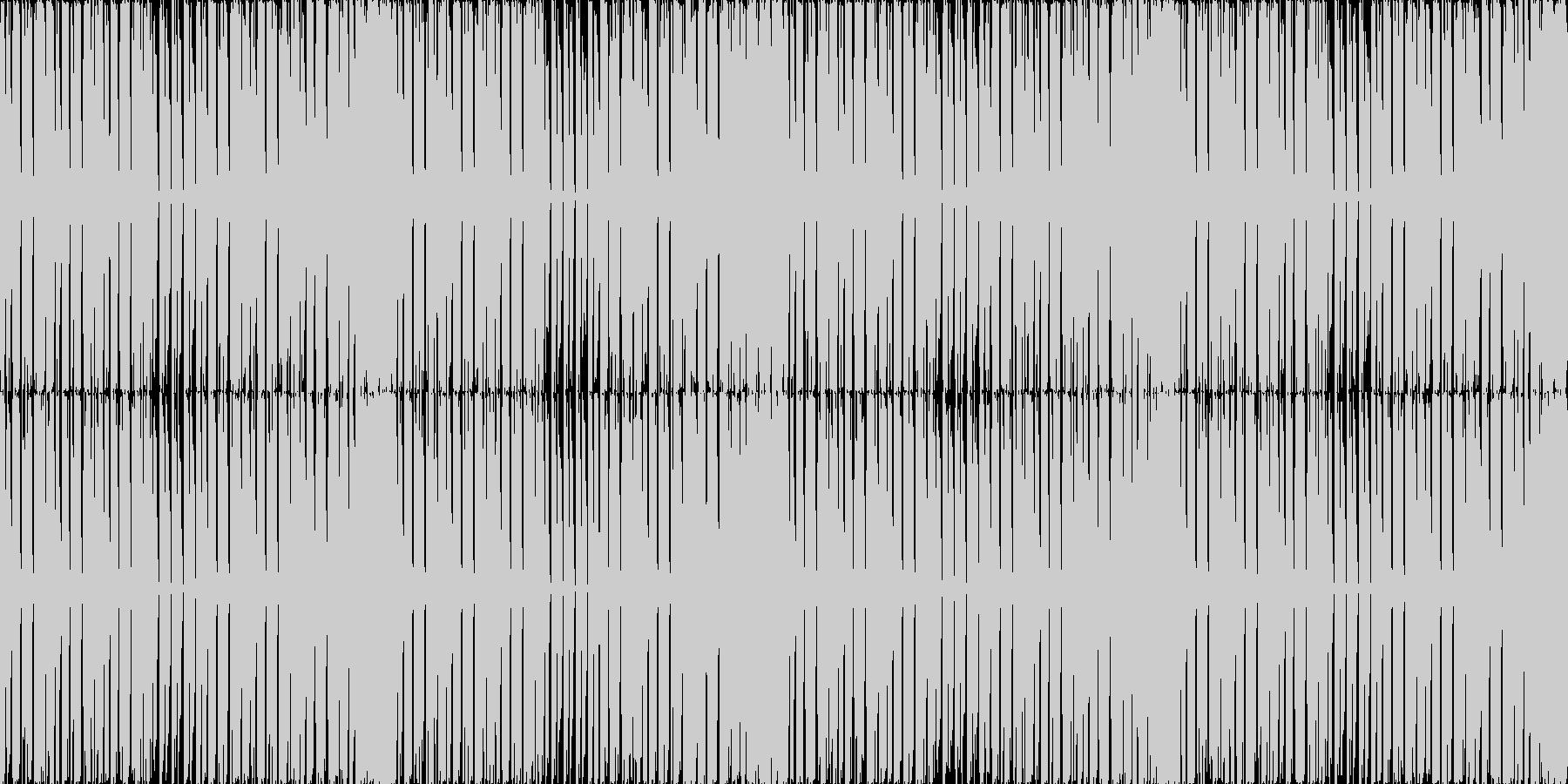 【ダンサブルなハウスサルサ】の未再生の波形