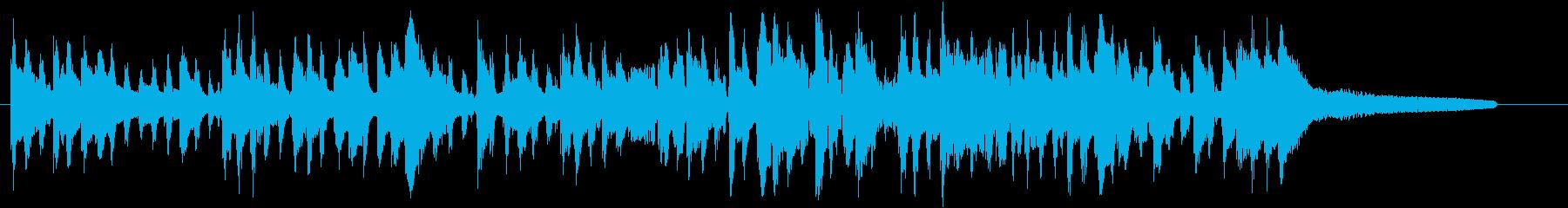 アダルトなジプシージャズのジングルの再生済みの波形