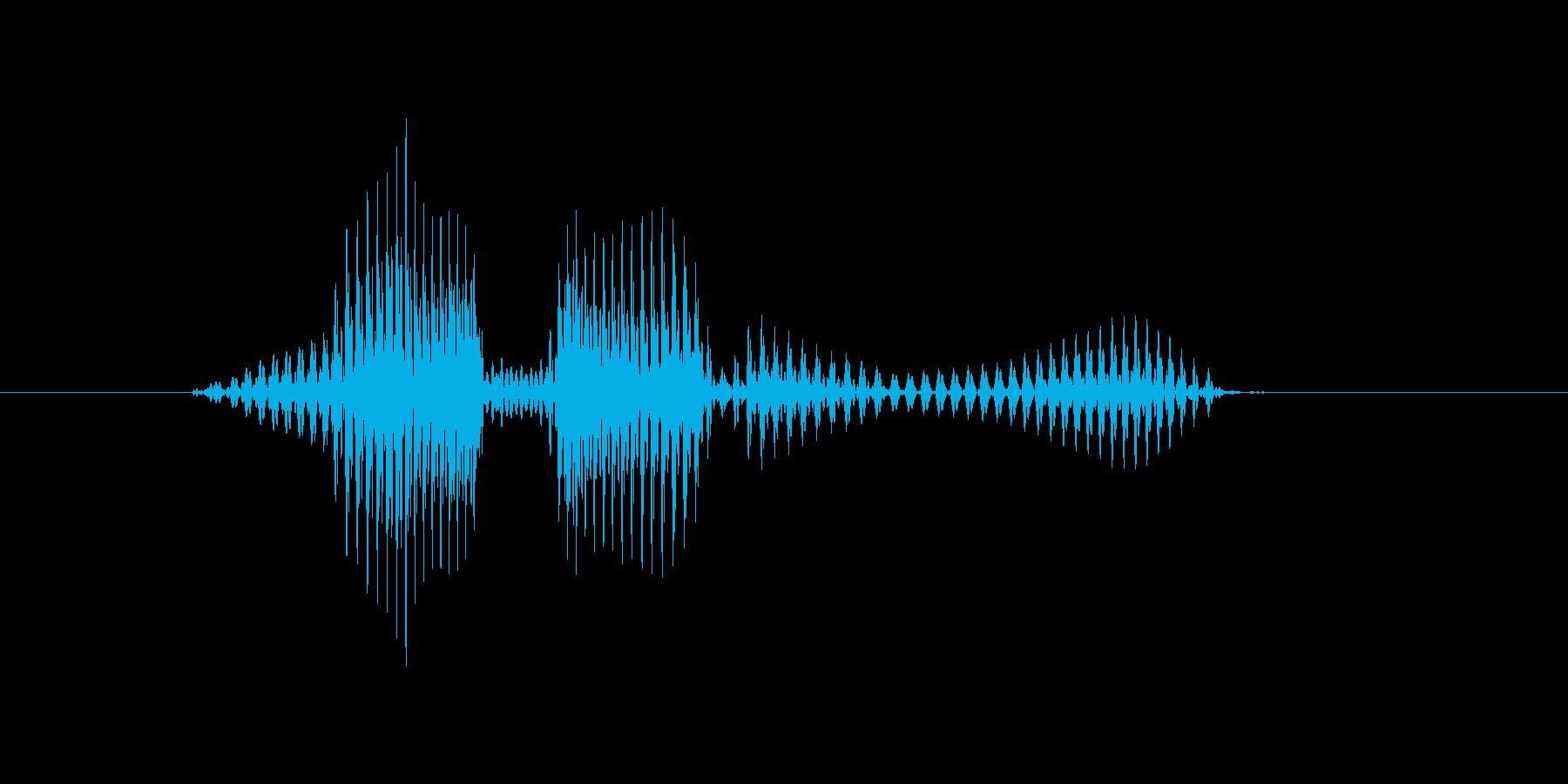 レベル2(に)の再生済みの波形