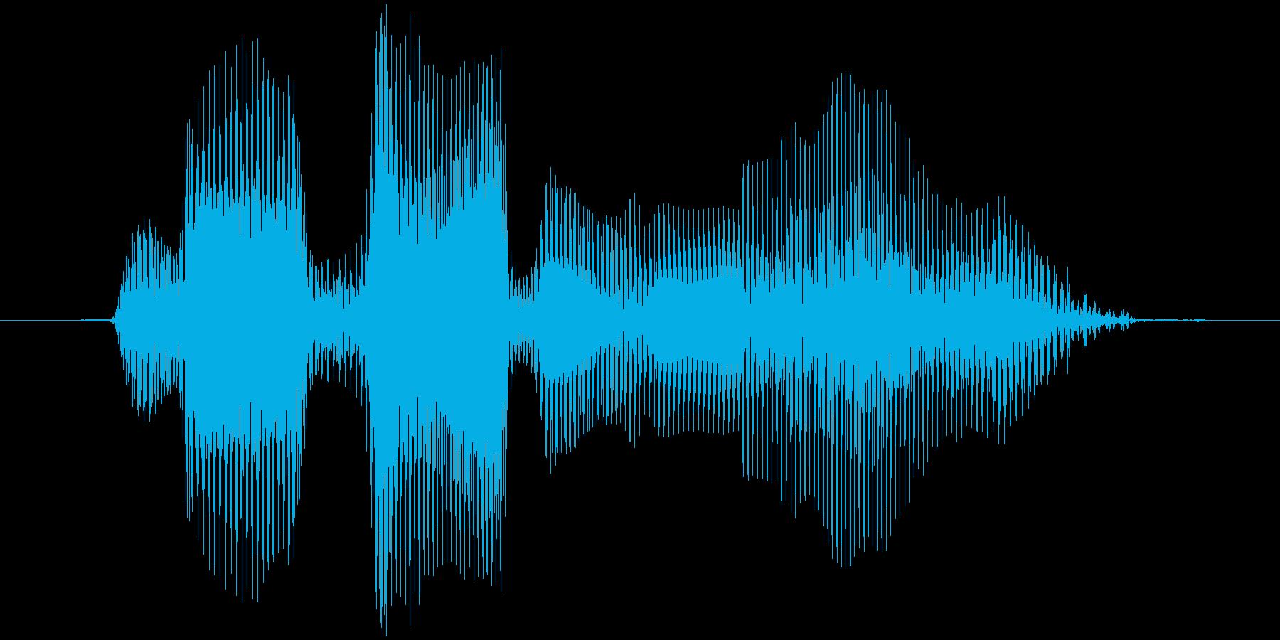 レベル9(ないん)の再生済みの波形