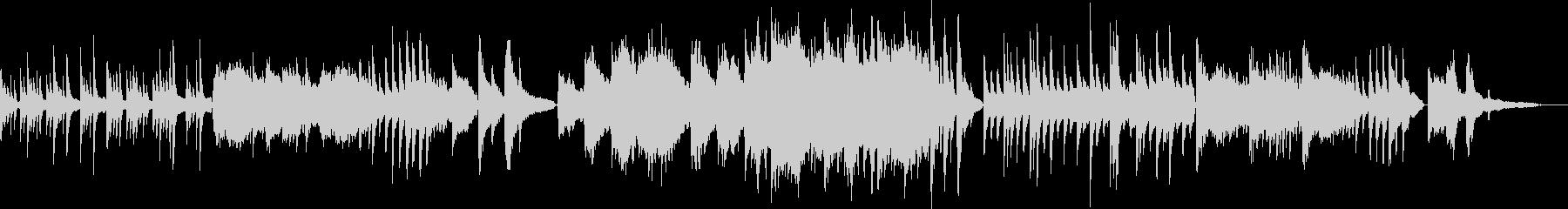 リラックス/オリエンタルな弦楽のバラードの未再生の波形