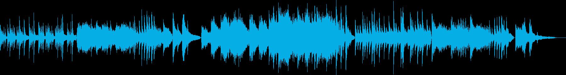 リラックス/オリエンタルな弦楽のバラードの再生済みの波形