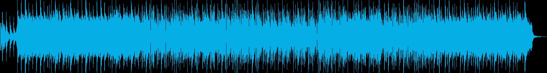 和風オーケストラ優しい切ない企業VPの再生済みの波形