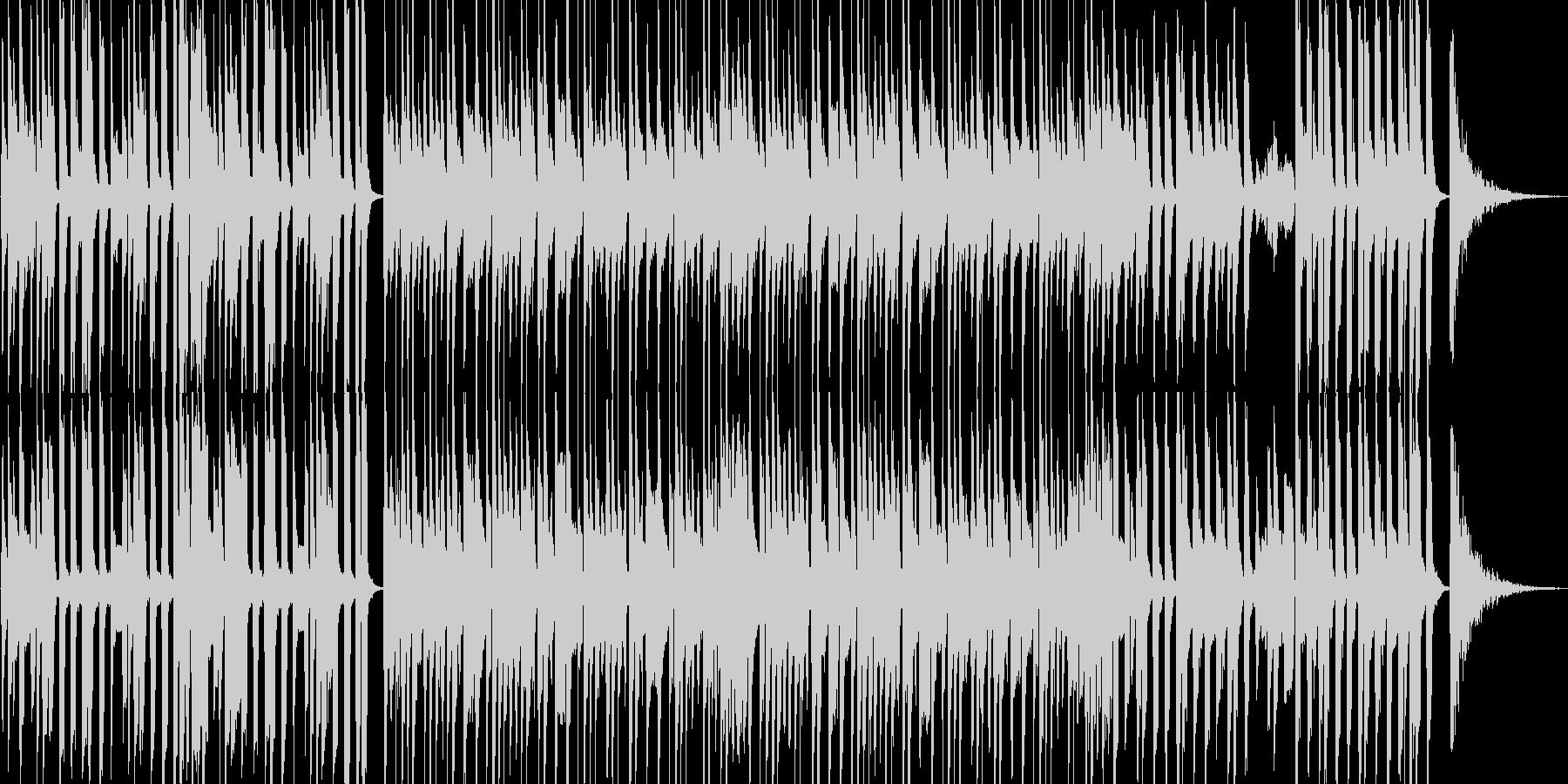 陽気なマンボーの未再生の波形