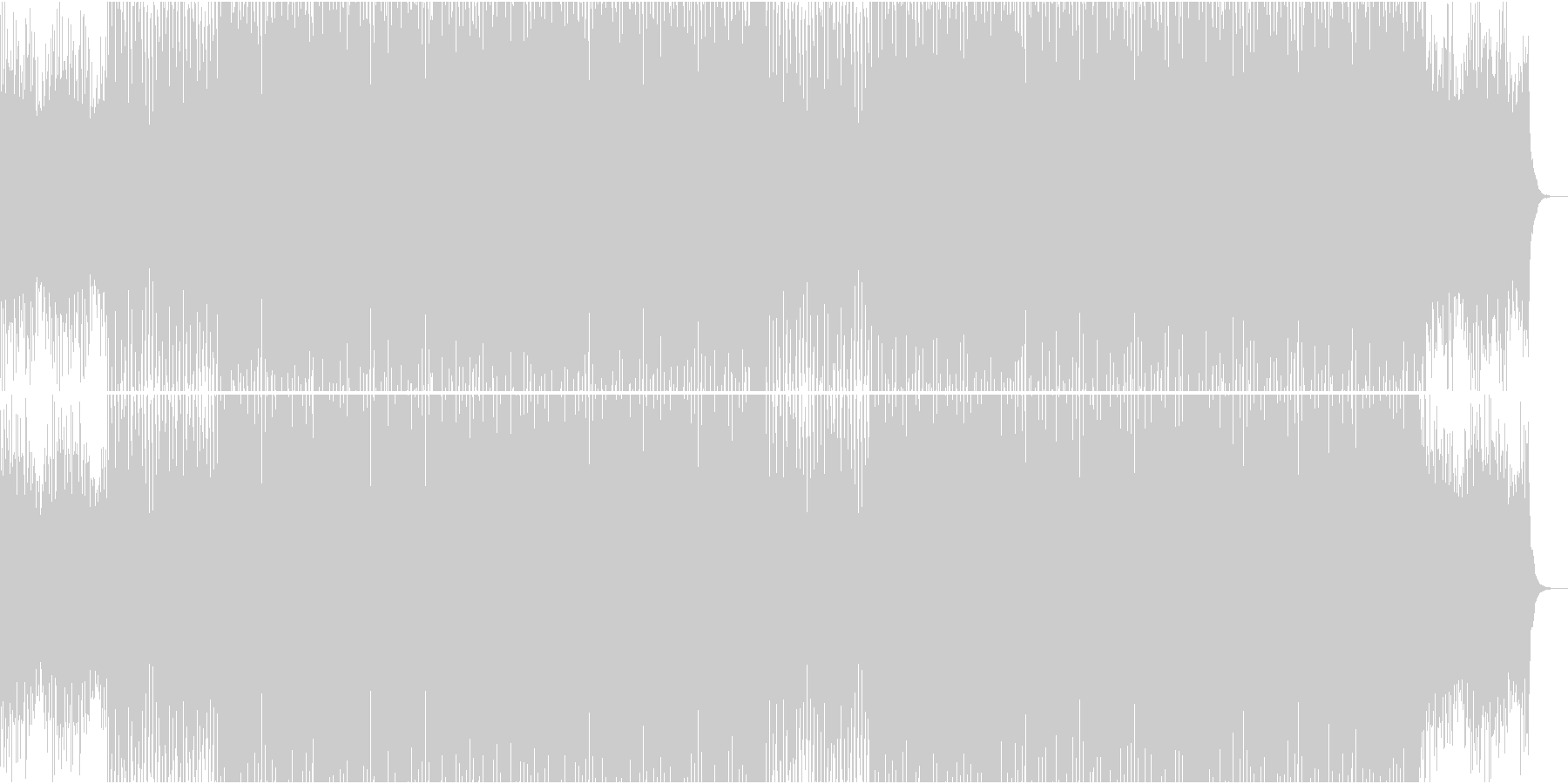 EDMクラブ系、製品紹介、商品紹介-08の未再生の波形