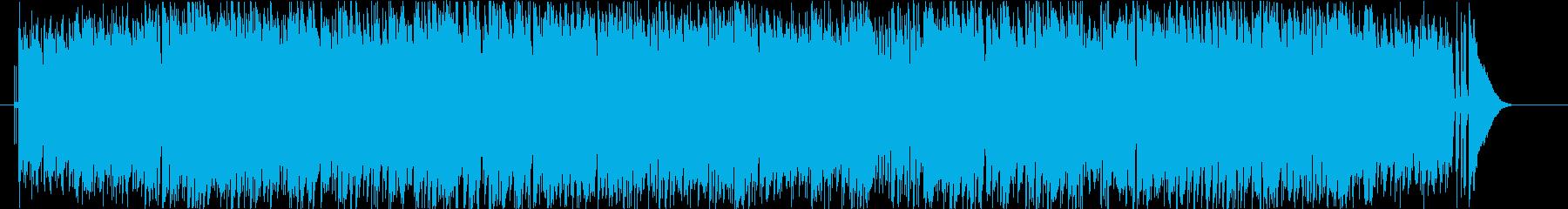 ギターインストユニット「Orphe K…の再生済みの波形