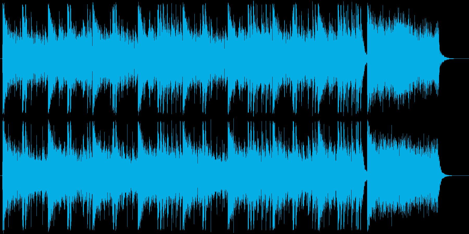 Chill/Healing系シリーズ曲1の再生済みの波形