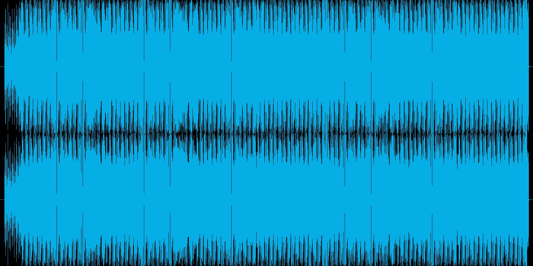 格好いいリズムで攻撃的。ゲームBGMなどの再生済みの波形