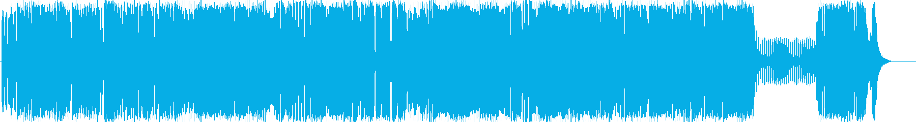 Retro-futurism POPの再生済みの波形