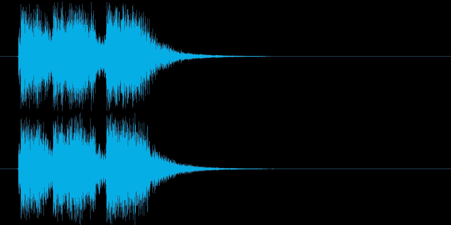 ミッションクリア_ジングルの再生済みの波形