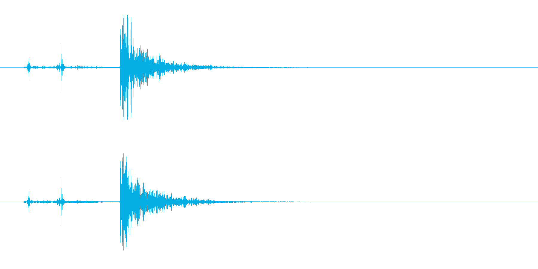 178_ガン1の再生済みの波形