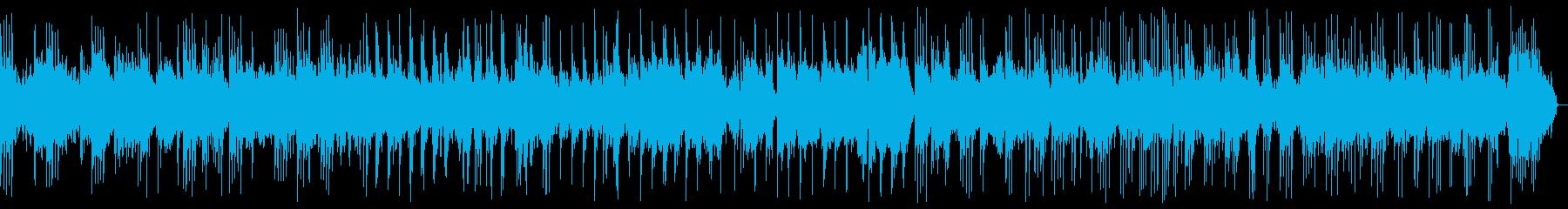 穏やかなピアノバラード_効果音なしの再生済みの波形