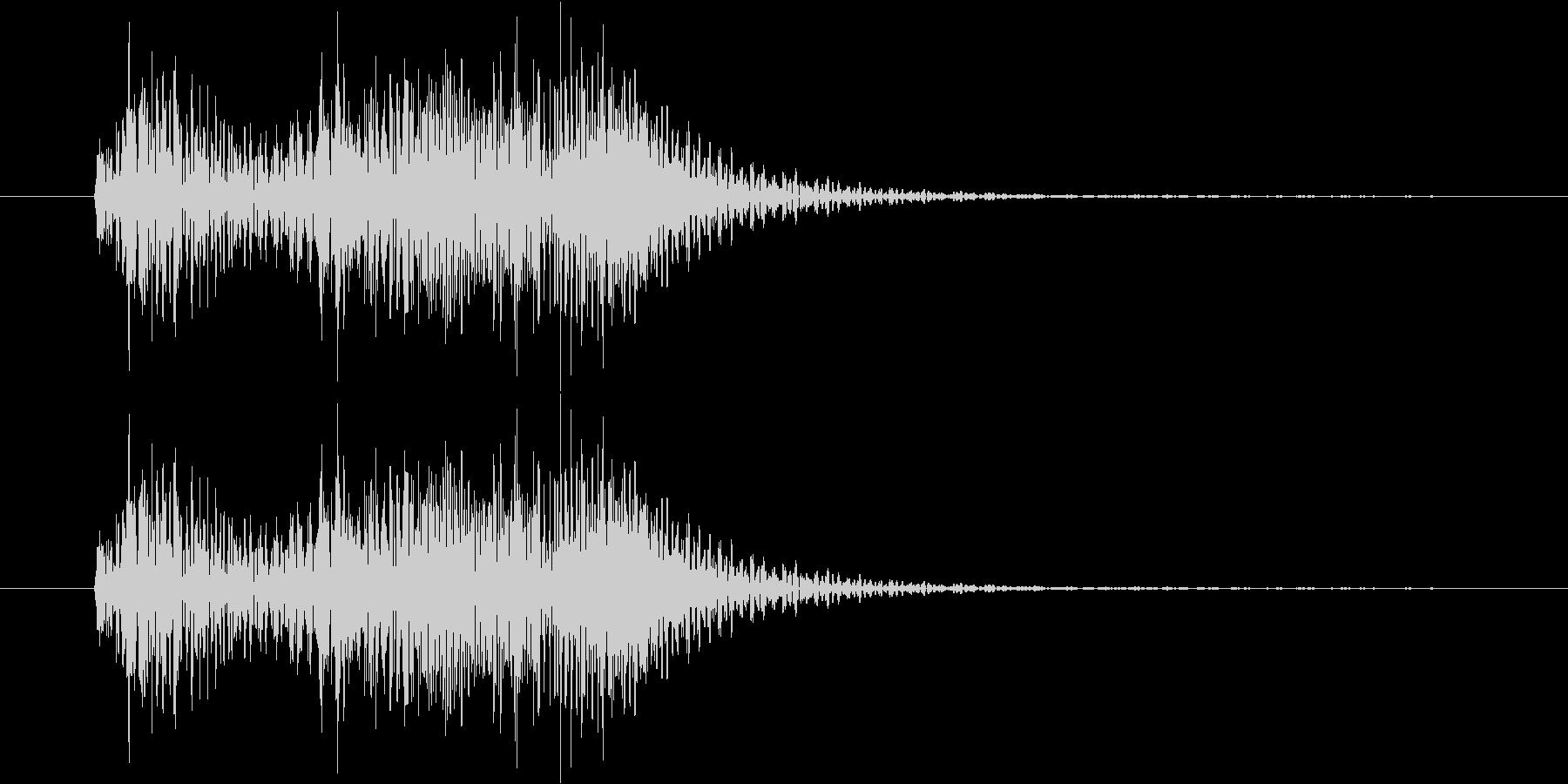 サウンドロゴ・ジングル stringsの未再生の波形