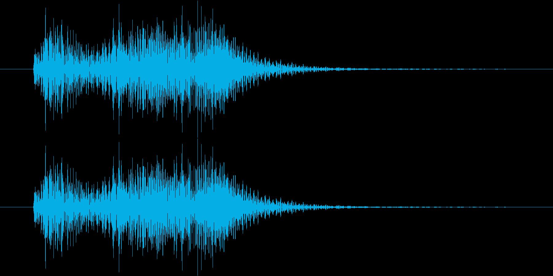 サウンドロゴ・ジングル stringsの再生済みの波形