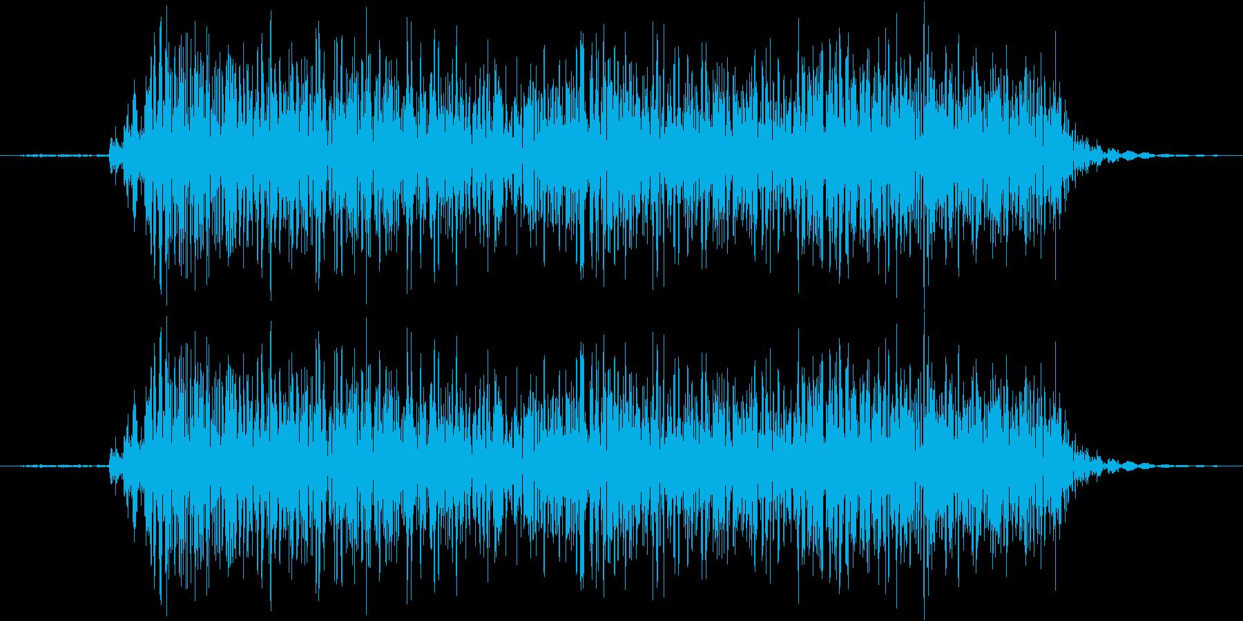 【エレキ ギター】クリーン ジャカジャカの再生済みの波形