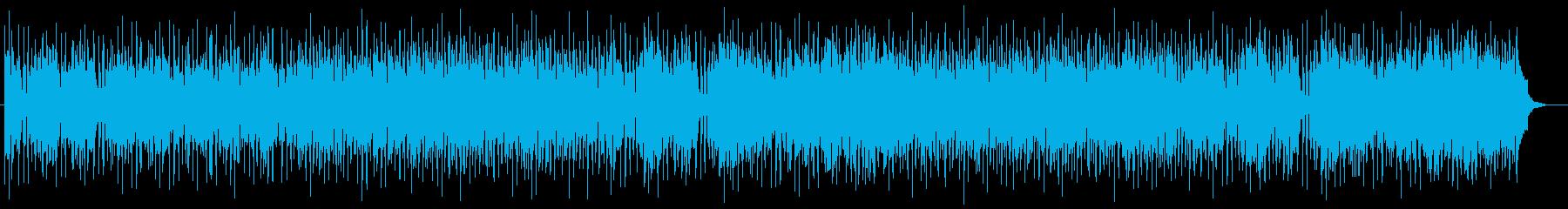 ゆったりとしたギターポップスの再生済みの波形