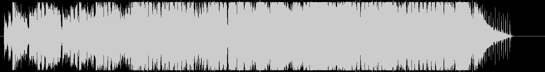 ハーモニカがあったかい感じのボサノバの未再生の波形