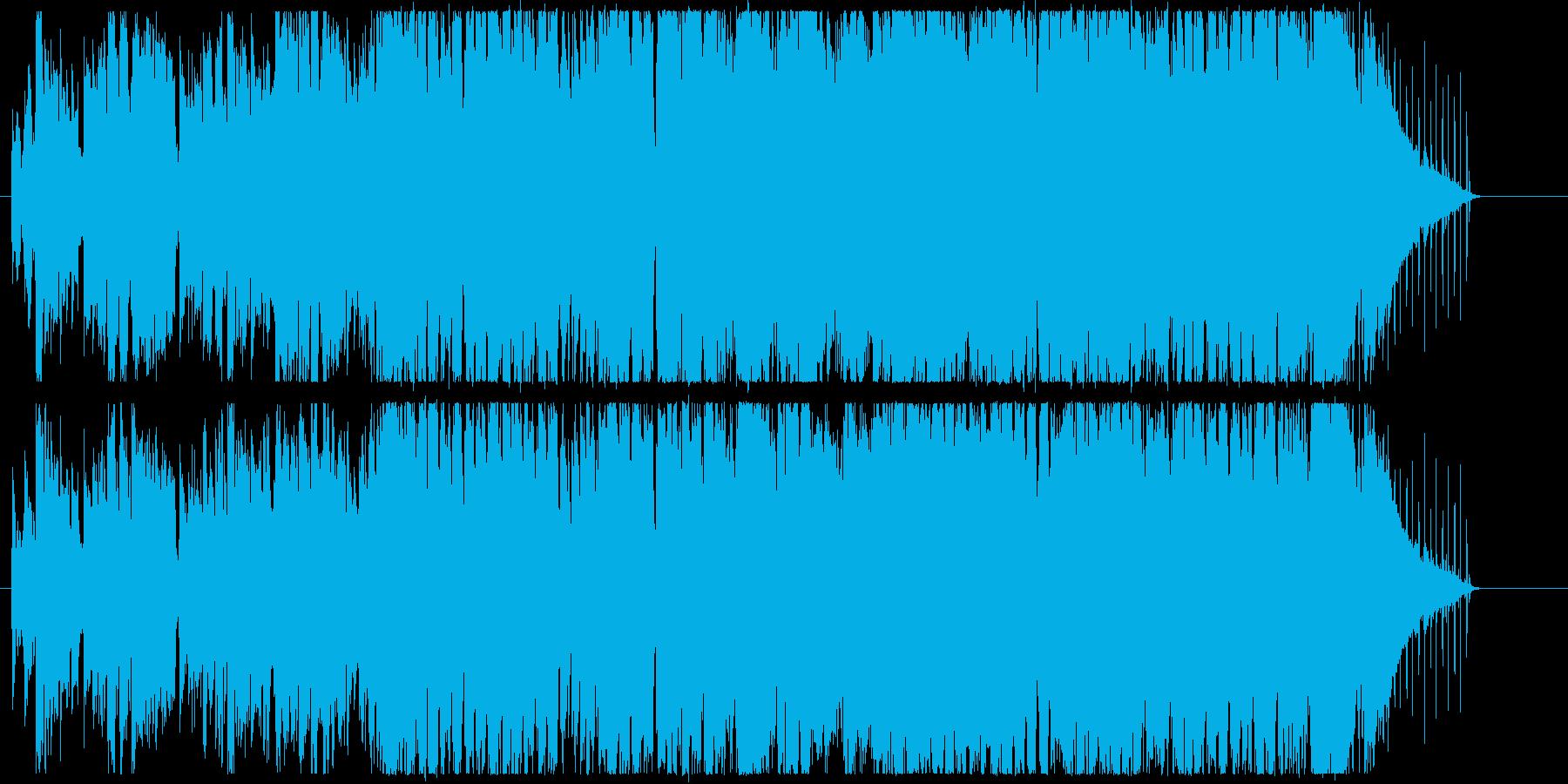 ハーモニカがあったかい感じのボサノバの再生済みの波形