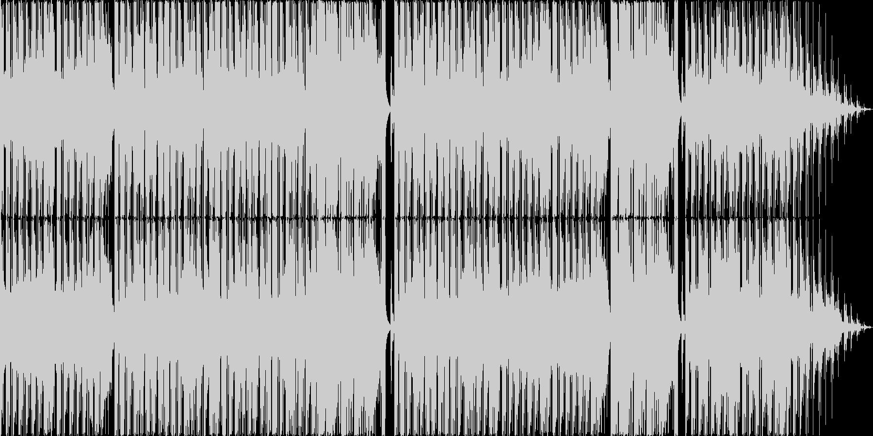 マリンバとピッチカートが可愛い音遊び作品の未再生の波形