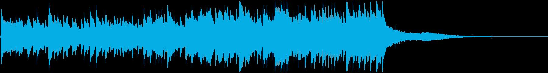 感動ピアノジングル 壮大なエンディングにの再生済みの波形