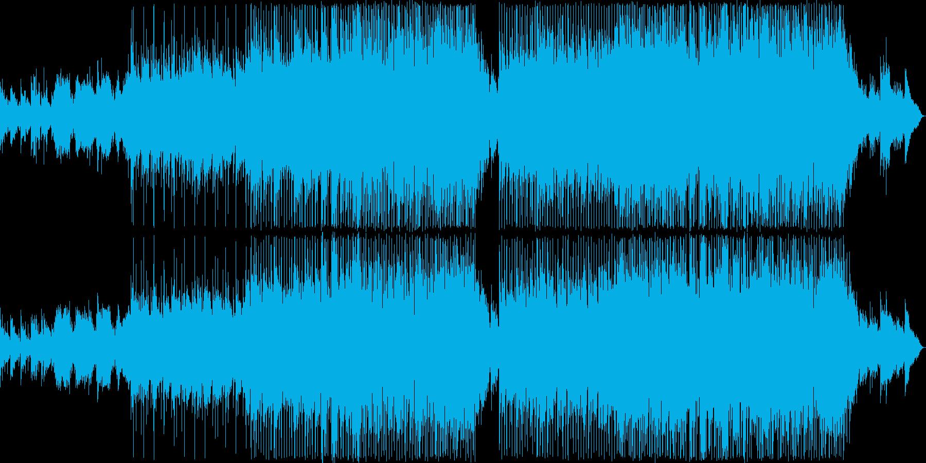 優しい雰囲気のバラード11の再生済みの波形