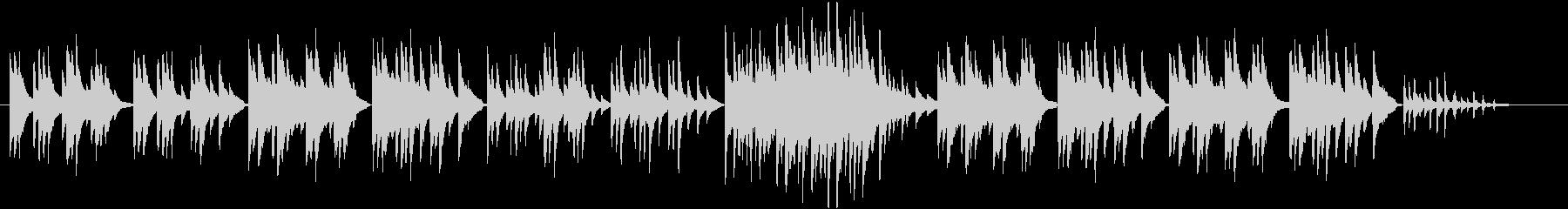 ピアノのちょっぴり切ないスローバラード。の未再生の波形