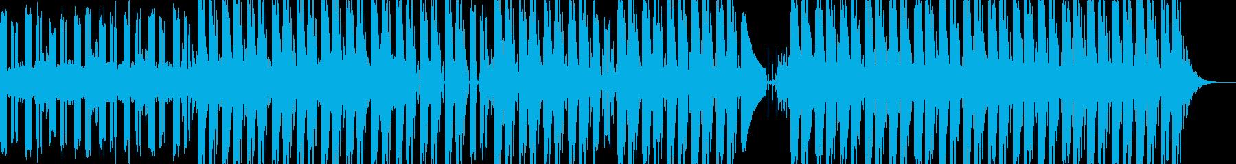 透明感のある音とビートが特徴的なポップスの再生済みの波形