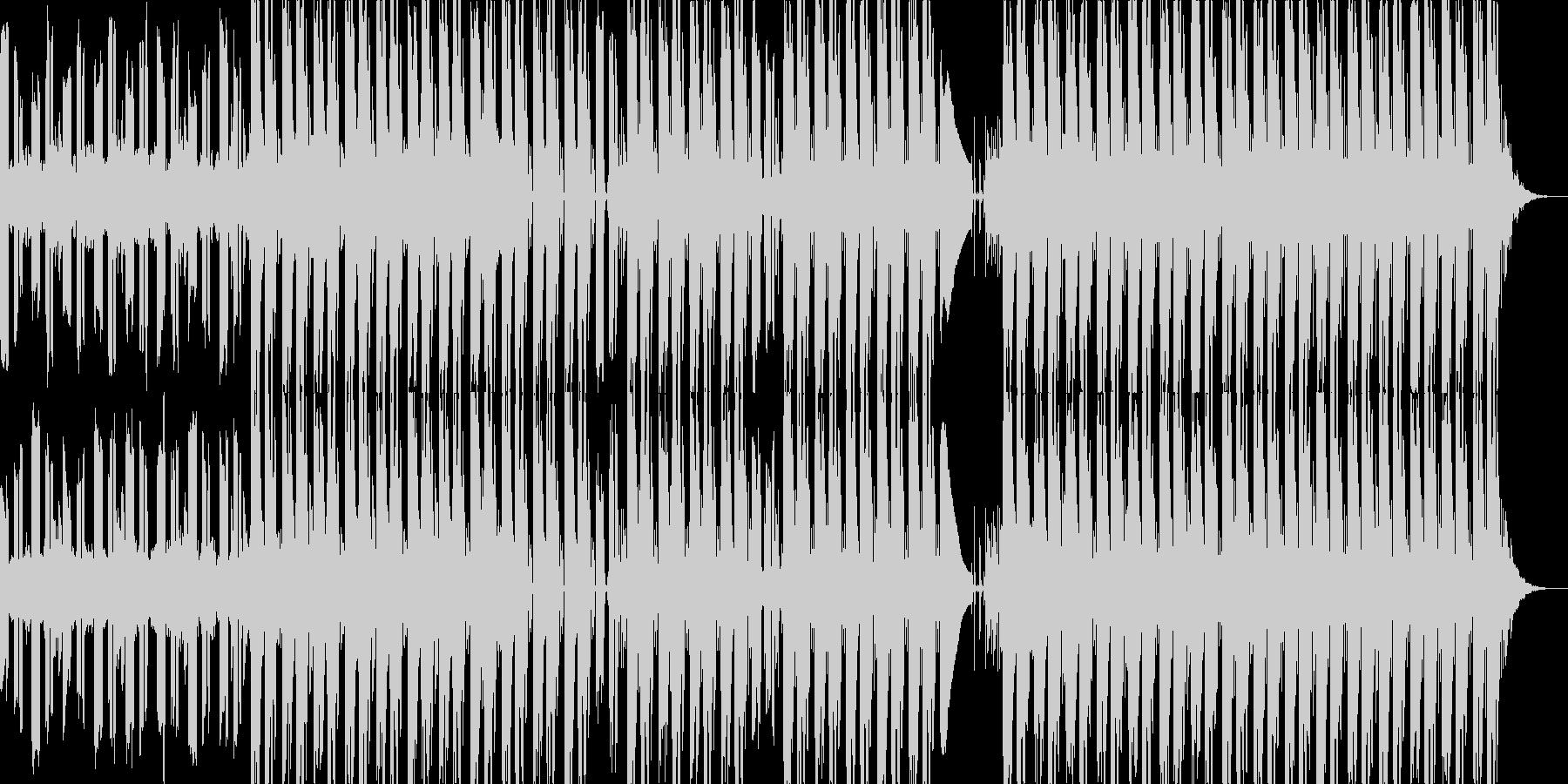 透明感のある音とビートが特徴的なポップスの未再生の波形