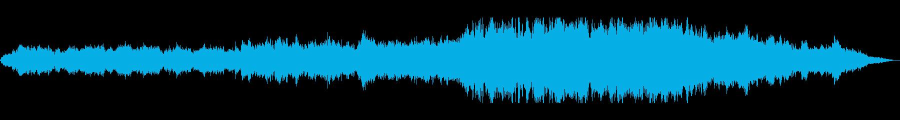 ゆったりと爽やかなシンセ管楽器サウンドの再生済みの波形