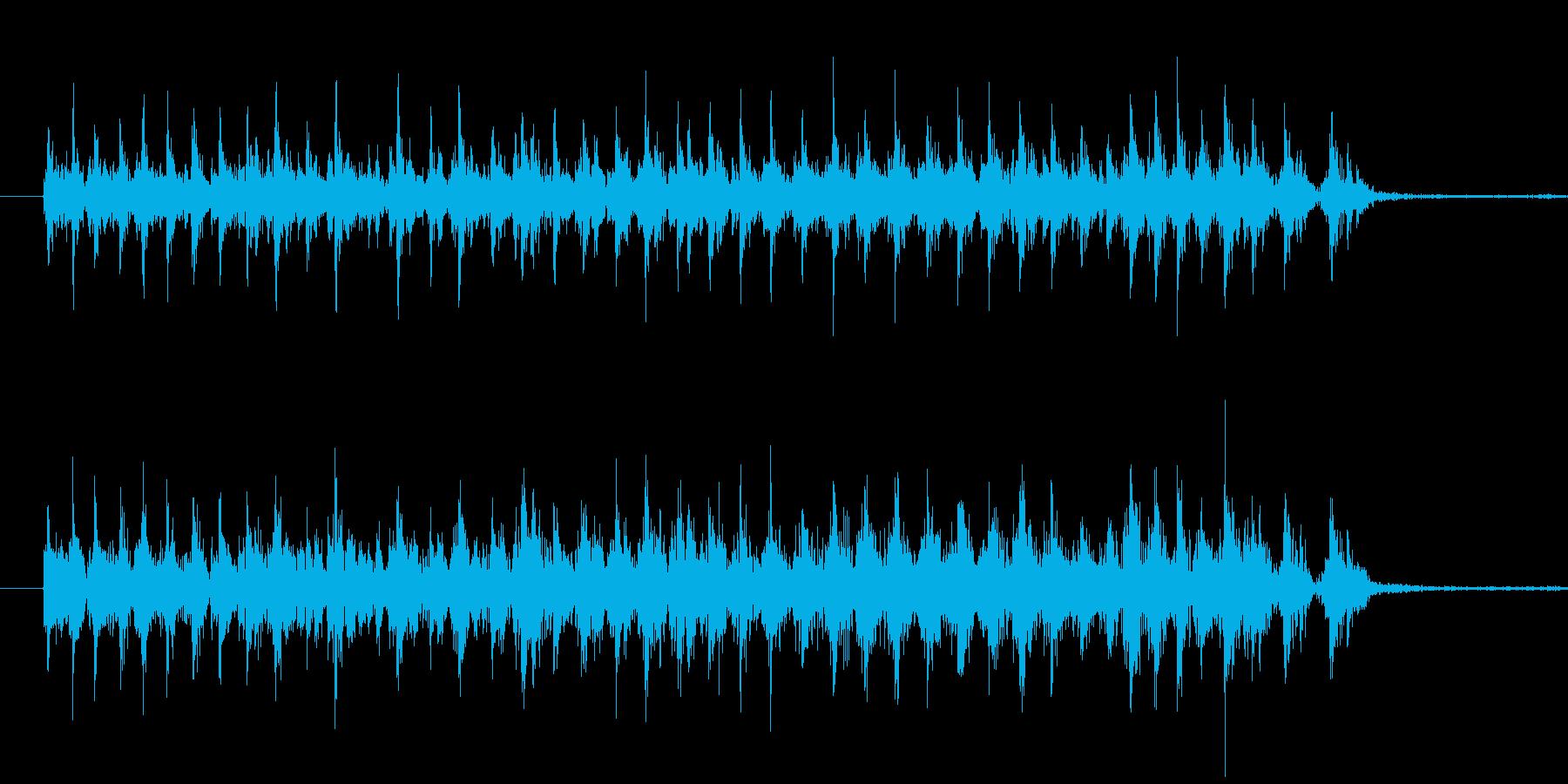 電動ドリルの音です。の再生済みの波形