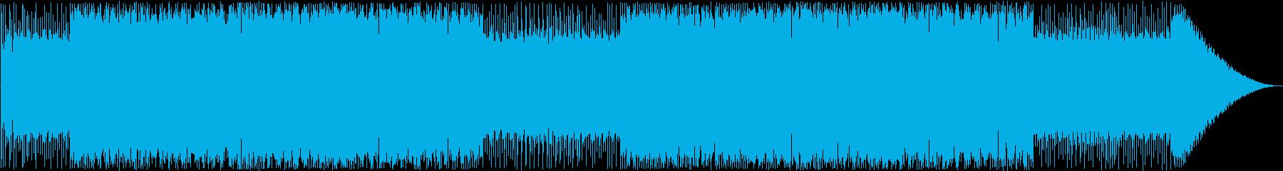 ファミコンダンジョン曲。の再生済みの波形