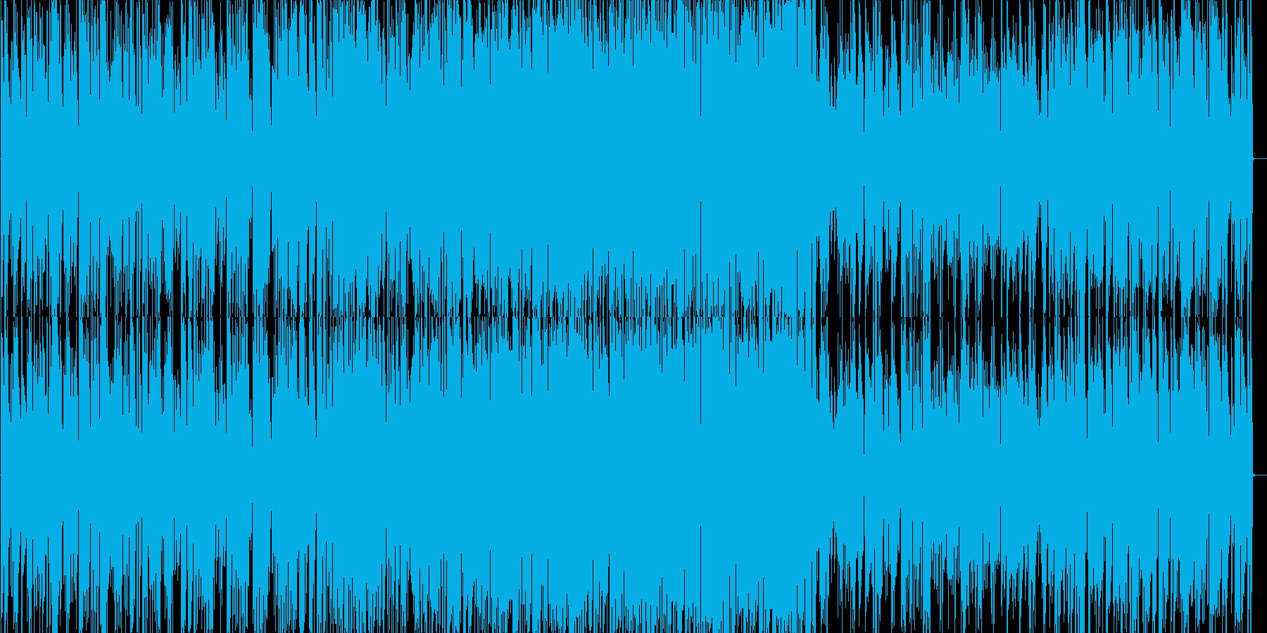 軽快なジャズピアノトリオの再生済みの波形